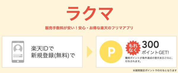 ラクマ入会キャンペーン